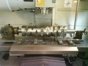 Výroba rotoru do jednohřídelového drtiče za pomoci dělícího přístroje na CNC obráběcím centru