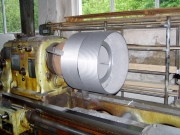 Výroba bubnu na navíjení lan pro výtah
