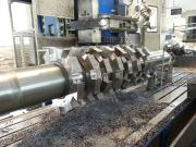 Výroba rotoru do mlýnu na recyklaci pneumatik