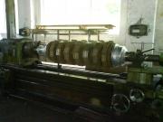 Oprava konce rotoru na soustruhu SU90