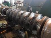 Oprava rotoru do drtiče na soustruhu SU90