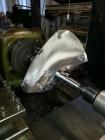 Soustružení lopatky kaplanovy turbíny na soustruhu SU90