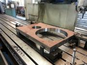 Výroba krycí mezistěny z materiálu Hardox na CNC frézce