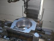 Výroba ložiskového domku na CNC obráběcím centru VMF1000