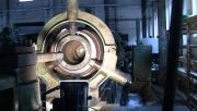 Oprava zlomeného rotoru do drtiče