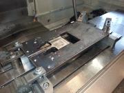 Frézování desky na CNC obráběcím centru