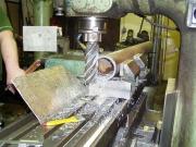 Frézování trubky na frézce FA4V
